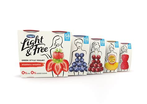 The Free Danone Light Free On Packaging Of The World Creative Package Design Gallery