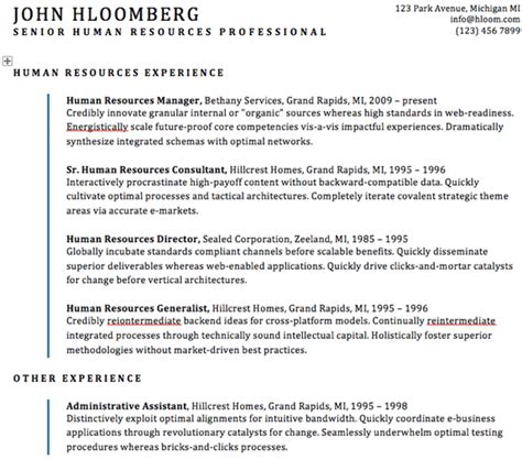 Resume Template Best Practices Resume Best Practices And Standards