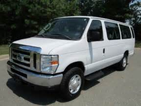 Ford 15 Passenger For Sale 2011 Ford E Series 12 Passenger Cutaway For Sale