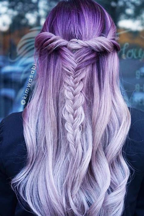 hairstyles dyed best 25 light purple hair ideas on pinterest colored