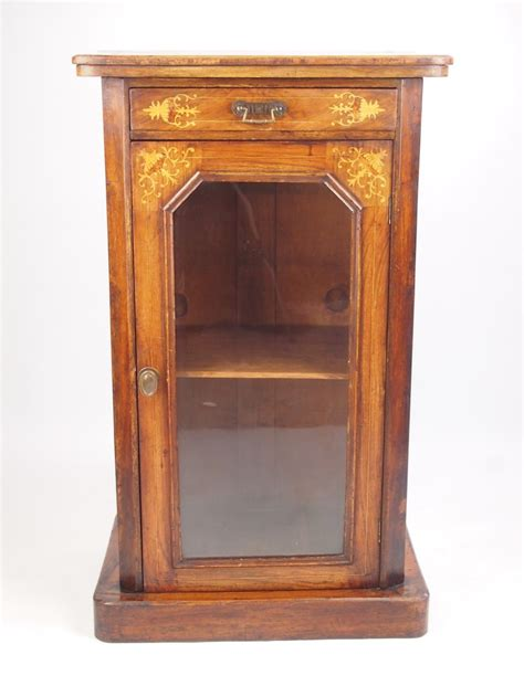Small Bookcase Cabinet Small Antique Walnut Pier Cabinet Bookcase