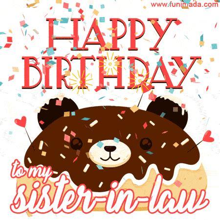 happy birthday   sister  law   funimadacom
