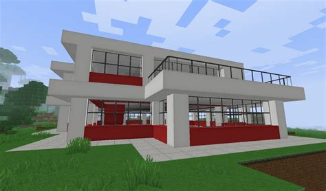 modern home very comfortable minecraft house design modern architecture house minecraft modren modern