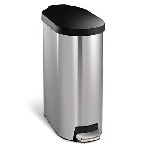trash can inspiring home depot stainless steel trash can