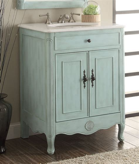 28 inch bathroom vanity with 26 inch adelina cottage light blue bathroom vanity crystal