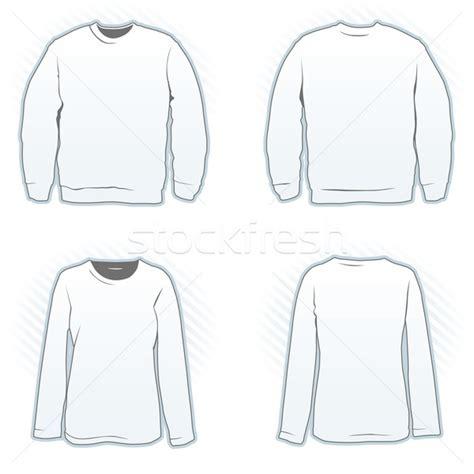 sweatshirt template illustrator sweatshirt design template vector illustration