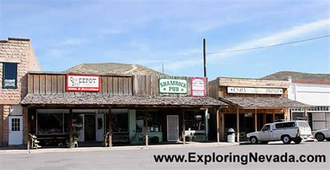 Small Town photographs of caliente nevada downtown caliente photo 1