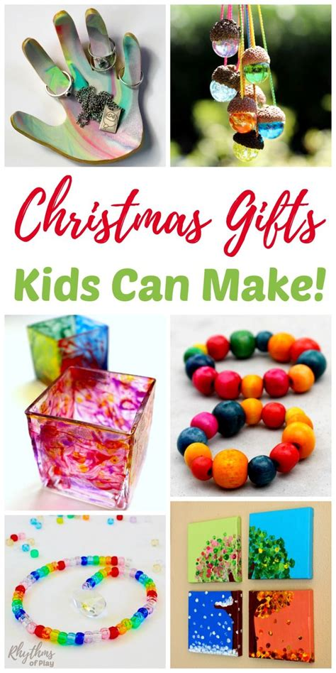 unique handmade gifts kids can make homemade crafts