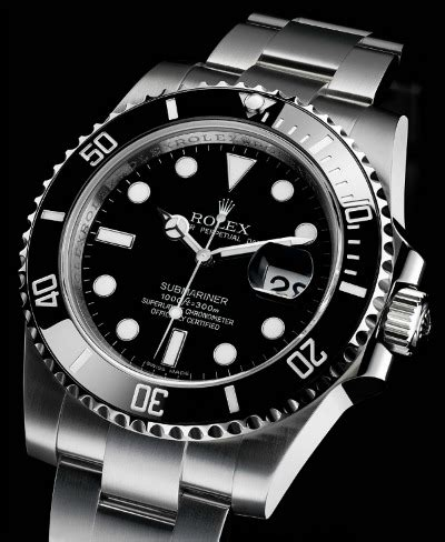 using the 'rolex submariner test' when buying watches