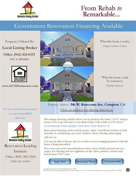 renovation lending institute assists listing broker with