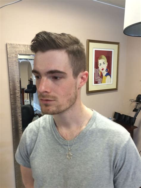 prohibition look hairstyle peaky blinders prohibition style haircut by iris c at