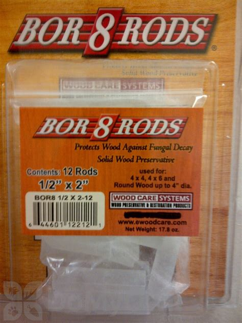 bor rods     pack