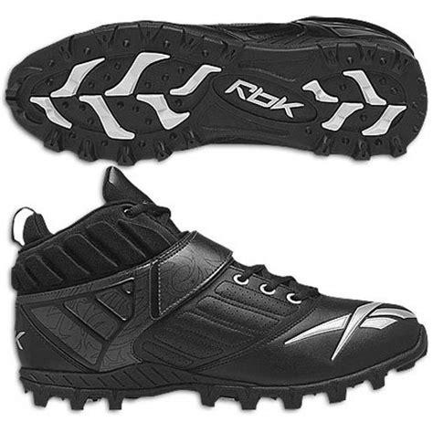 reebok turf shoes football reebok bulldodge mid at lc turf mens football shoes black