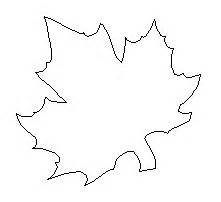 leaf template pdf maple leaf template free printable clipart best