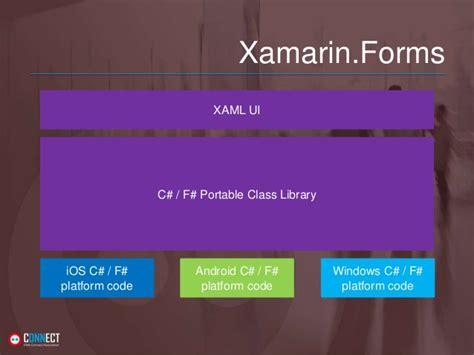 xamarin forms relativelayout xaml dnn connect mobile development with xamarin