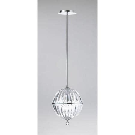 Cyan Design 04206 Chrome 1 Light Small Globe Pendant From Cyan Design Janus Pendant Lights
