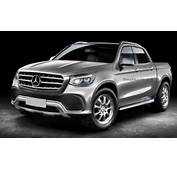 Mercedes Benz Pick Up Rendered To Be Sold In The US