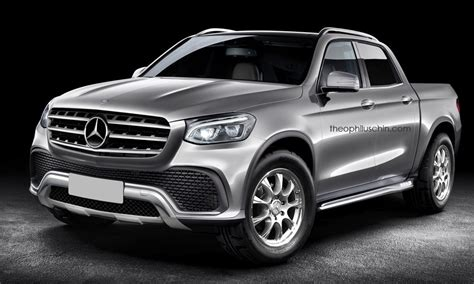 mercedes pickup truck mercedes benz pickup gets rendered gtspirit