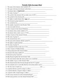 periodic table worksheet answers the periodic table answers image collections