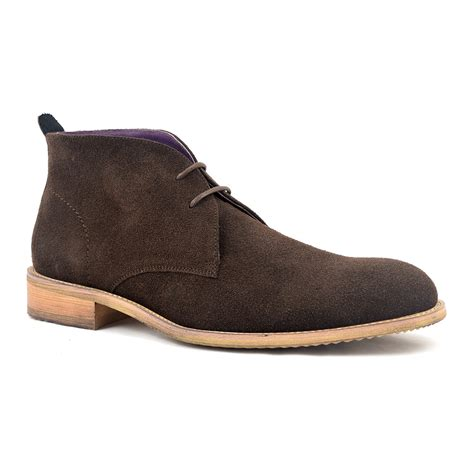 buy mens brown suede chukka boots gucinari mens style