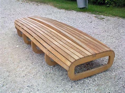 wooden bench aussensitzbank aussenbaenke und moderne baenke
