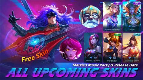 mobile legends  upcoming skin  skin martiss