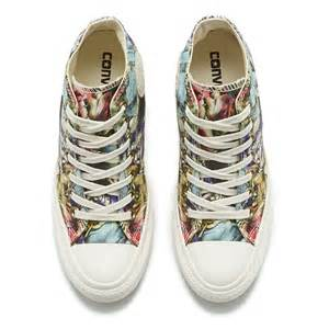converse women s chuck taylor all star lux floral print