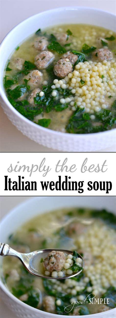 Favorite italian wedding soup   Recipe   Wedding