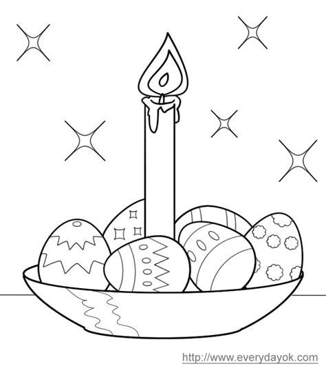 candele da colorare uova di pasqua da colorare candela blogmamma it