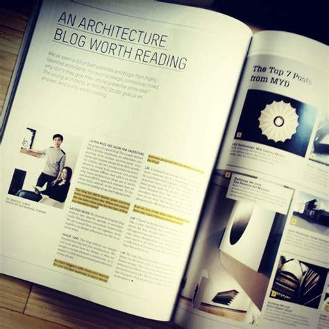 design bureau magazine architecture myd studio featured in design bureau