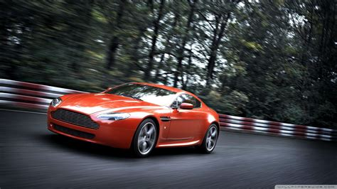 orange aston martin download orange aston martin vantage v8 wallpaper