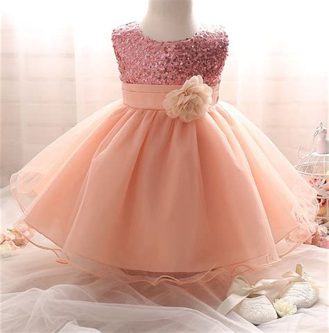 baby kids clothing girl dress sequins pageant party flower