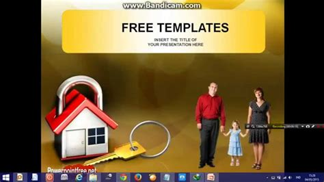 ppt templates for insurance life insurance powerpoint presentation template youtube