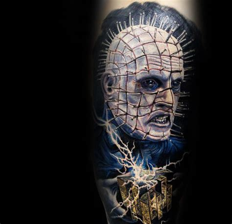 hellraiser tattoo 50 hellraiser designs for cenobite pinhead