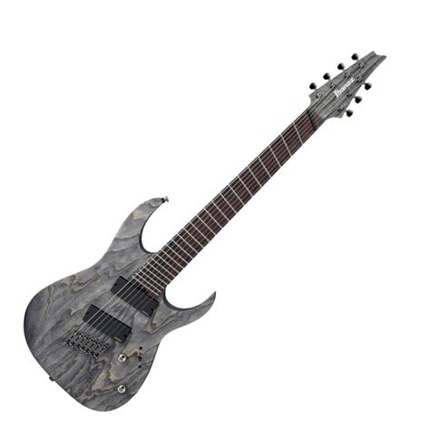 fanned fret bass guitar ibanez iron label rgif7 fanned fret electric guitar at zzounds