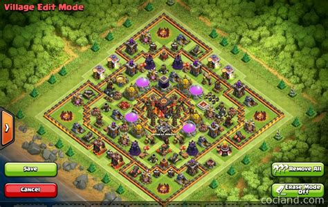 th10 layout names clash of clans layouts for farming and clan wars