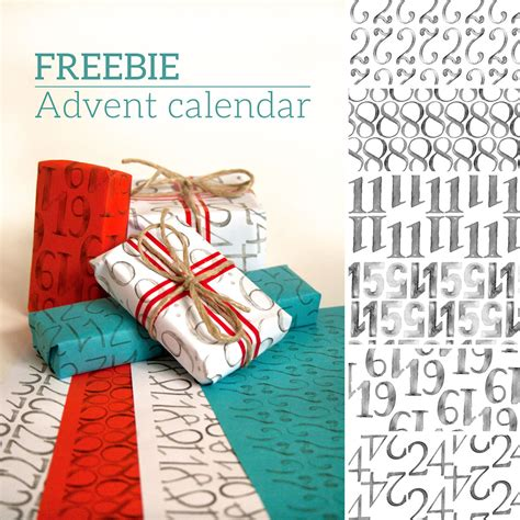 a3 printable advent calendar free printable advent calendar wrapping paper on behance