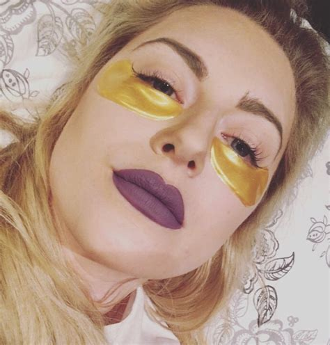 Gold Collagen Eye Mask review 24k gold collagen masks and