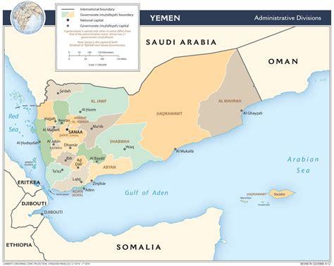 yemen map yemen maps perry casta 241 eda map collection ut library