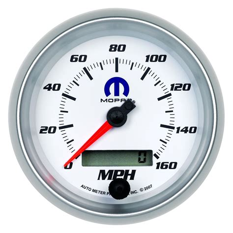 Sepidometer Indikator auto meter 174 880036 mopar speedometer in dash