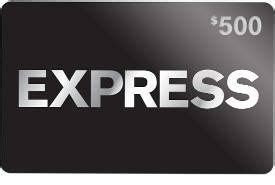 Where To Get Express Gift Cards - free express gift card giveaway i crave freebies