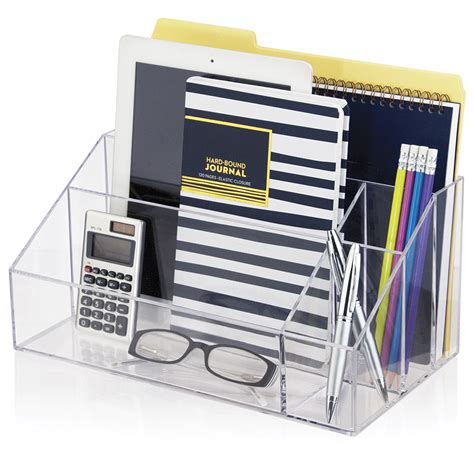 desk organized desktop organizer stori
