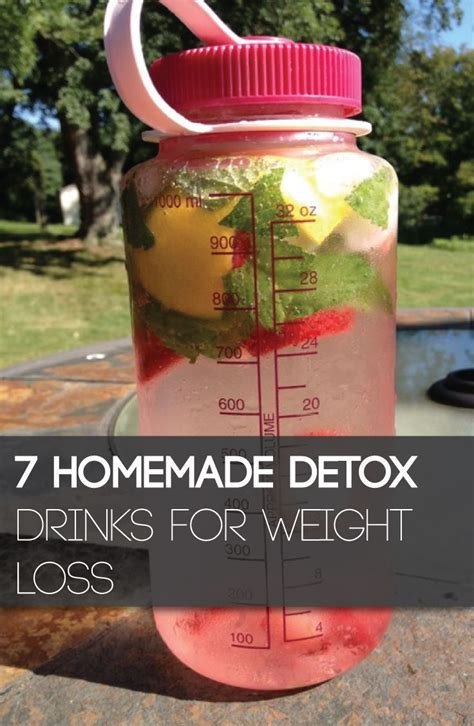 Diy Home Made Weight Loss Detox Drinks For Weight Loss
