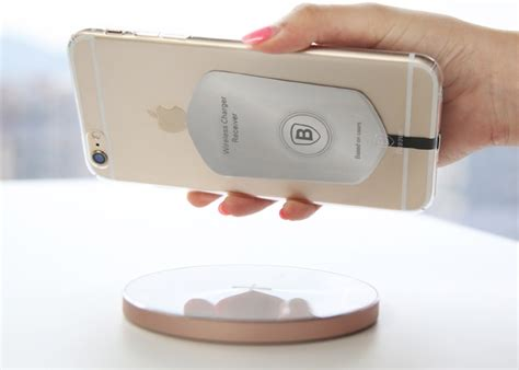 Baseus Qi Receiver Universal Lightning Apple Receiver Card T0210 1 Baseus Universal Wireless Charger Receiver Card Micro Usb
