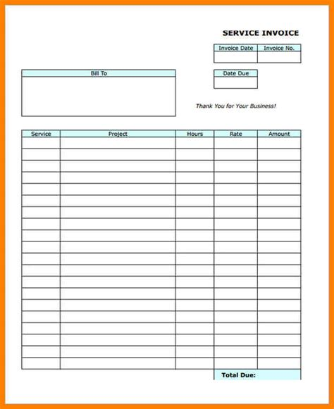 blank invoice template 4 free blank invoice appeal leter