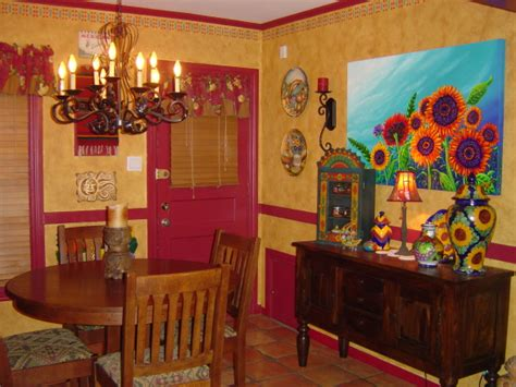 Mexican Home Decorations | mexican style homes interior 10 spanishinspired rooms