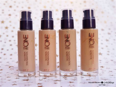 Eyeliner The One oriflame the one illuskin foundation review swatches