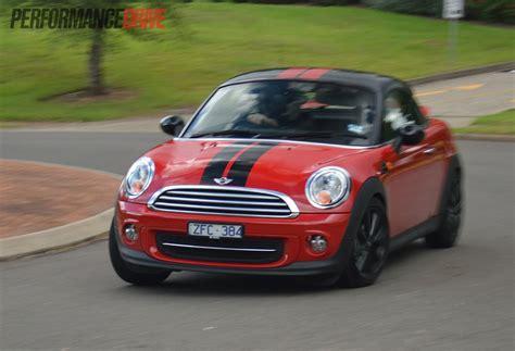 2013 mini coupe cooper review performancedrive