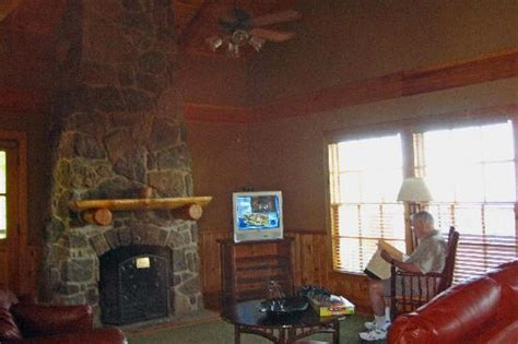 Mt Magazine Cabins by Living Room In Cabin Picture Of The Lodge At Mount Magazine Tripadvisor