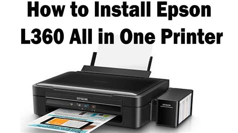 Printer Epson L360 Lazada l360 epson printer unboxing and setup easy
